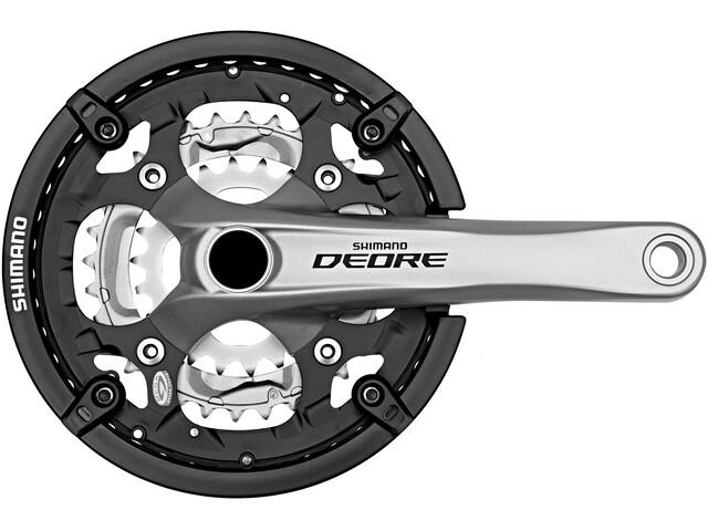 Shimano Deore Trekking FC-M591 - Bielas - 9 vel 44-32-22 dientes Plateado